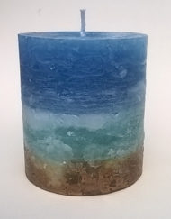Seaside Pillar Candle