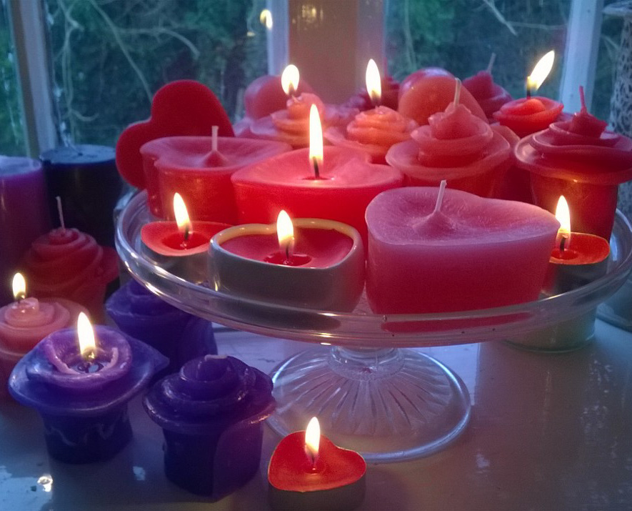Valentine's Candle Workshop