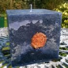Welsh Slate & Copper Candle