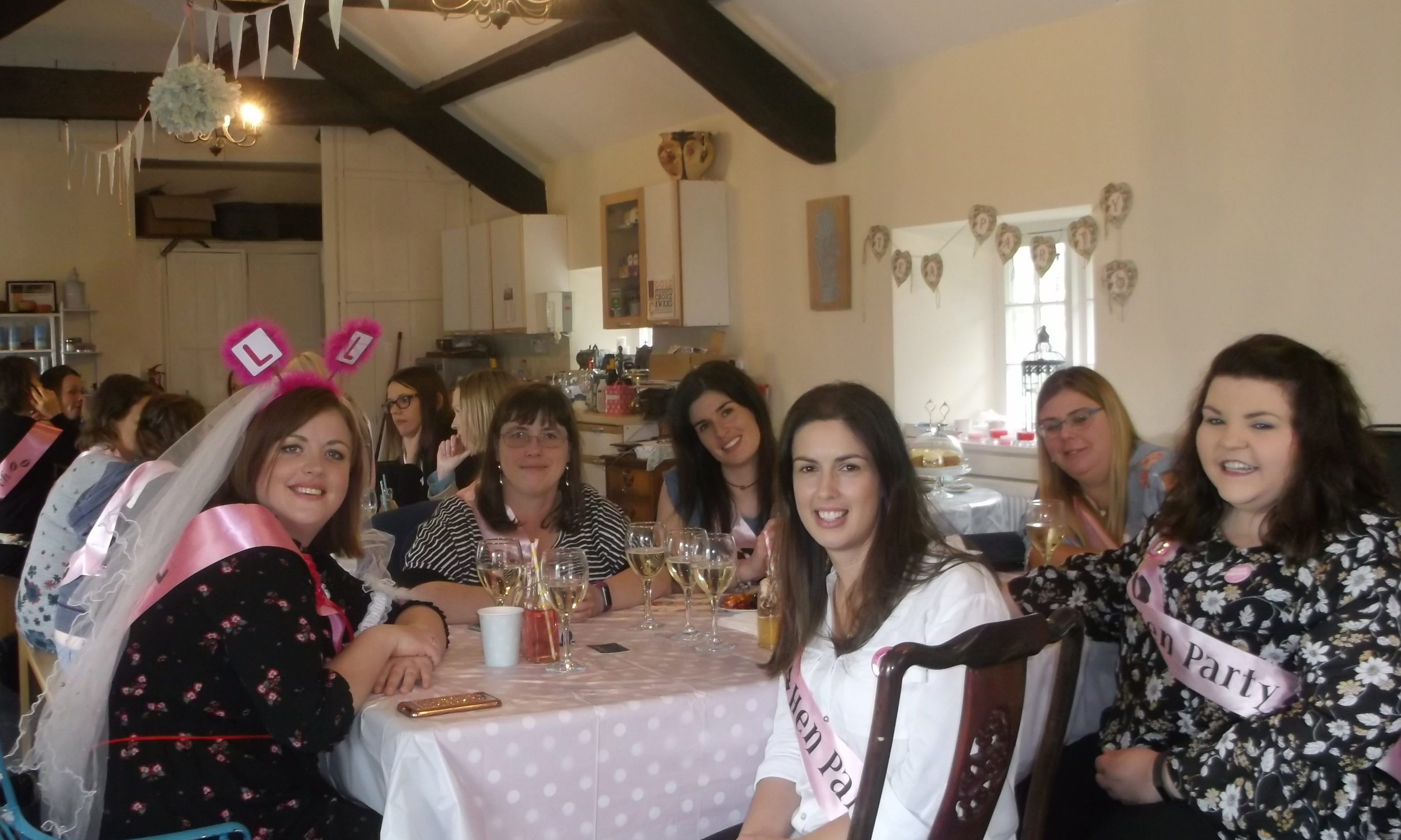 Hen Party at The Candle Alchemist. Anglesey