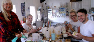 candle making workshop, Anglesey