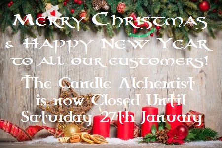 Closed until 27th January